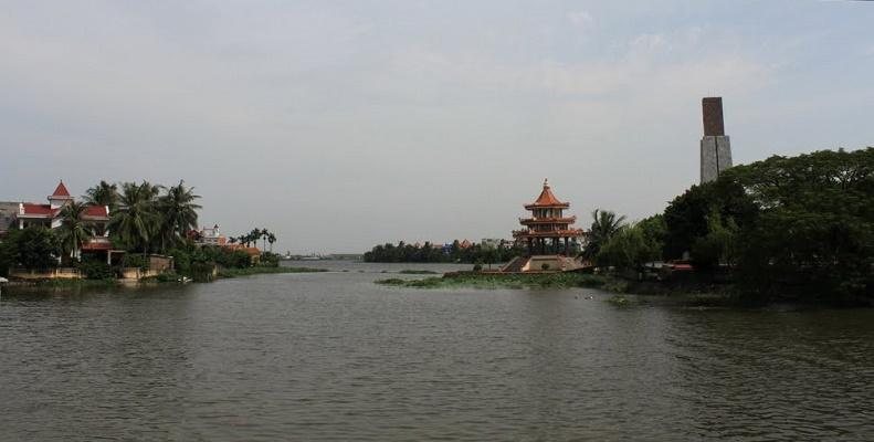 Nguồn nước sông Đa Độ, huyện Kiến Thụy, Hải Phòng