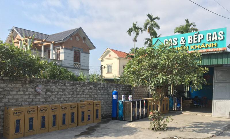 Sản phẩm Famy tại Đại lý Chiến Khánh - Đông Triều - Quảng Ninh
