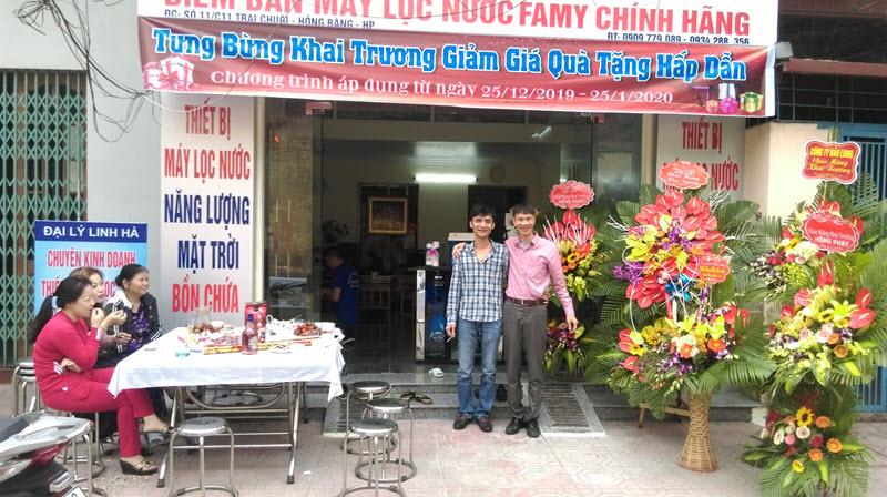 Khai trương Đại lý Famy Linh Hà