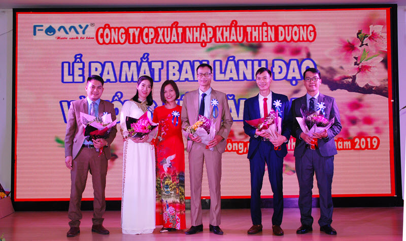 Ban lãnh đạo Famy Việt Nam - Công ty Thiên Dương
