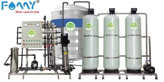 Dây chuyền máy lọc nước công nghiệp mang lại nhiều tiện ích trong quá trình sử dụng
