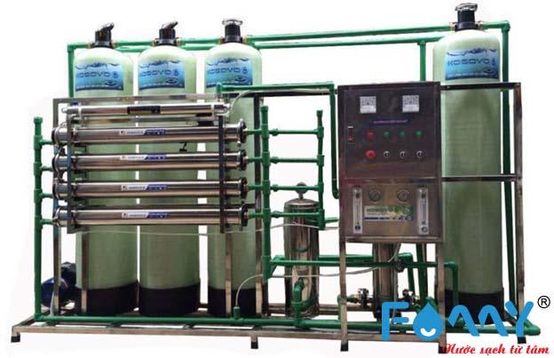 Cấu tạo của máy lọc nước công nghiệp RO gồm nhiều bộ phận giúp lọc sạch nguồn nước hiệu quả