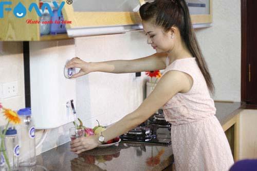 Van 1 chiều giúp máy  lọc nước hoạt động trơn tru và hiệu quả