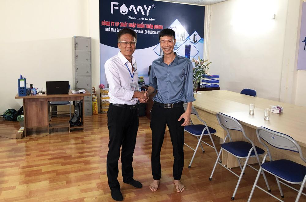 Miki Industry Việt Nam thăm và làm việc với Famy Việt Nam