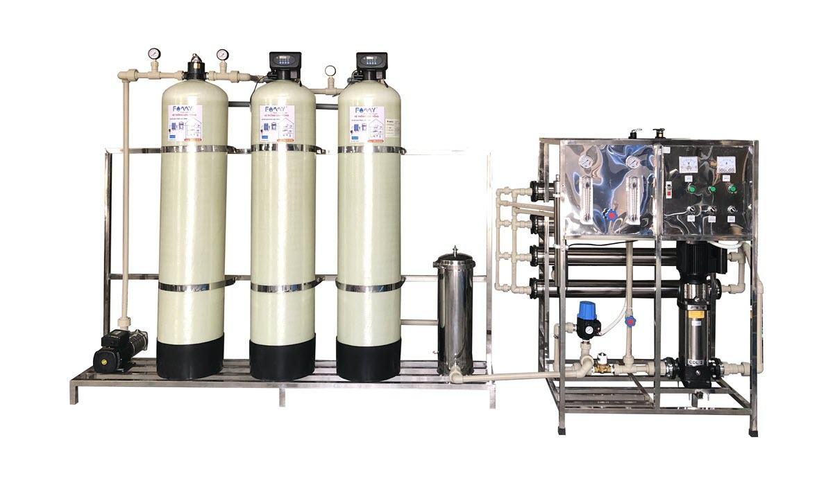 Hệ thống lọc nước RO công nghiệp của Famy