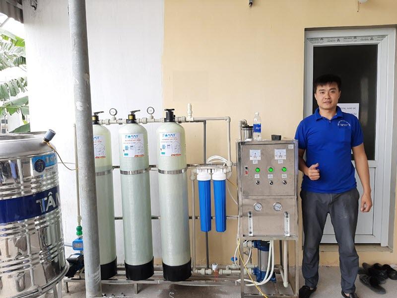 Hệ thống lọc nước RO công nghiệp Famy