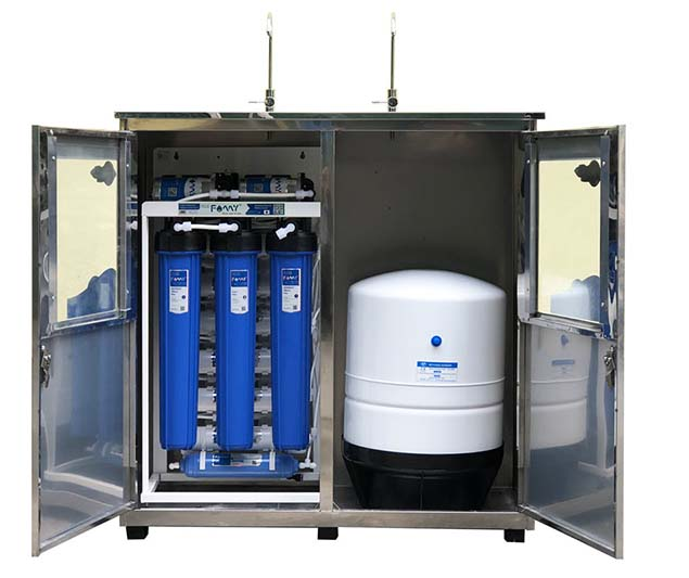 FA70IQ-2 công suất 70 lít/giờ tủ đôi inox 2 vòi