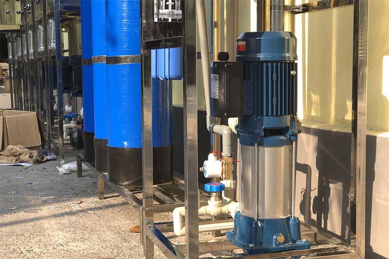 vị trí lắp đặt máy lọc nước