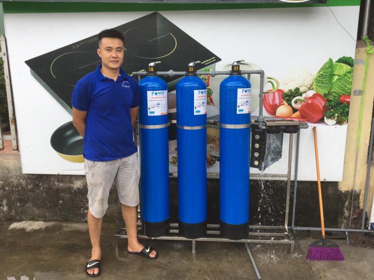 Máy lọc nước công nghiệp RO là sản phẩm được ứng dụng rộng rãi trong đời sống