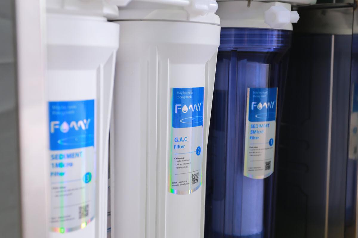 Máy lọc nước FAMY IRO8IQ-A 8 cấp lọc