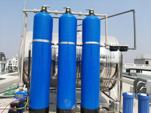 thiết bị lọc nước đầu nguồn gia đình