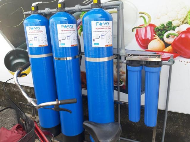 bộ lọc nước đầu nguồn mini