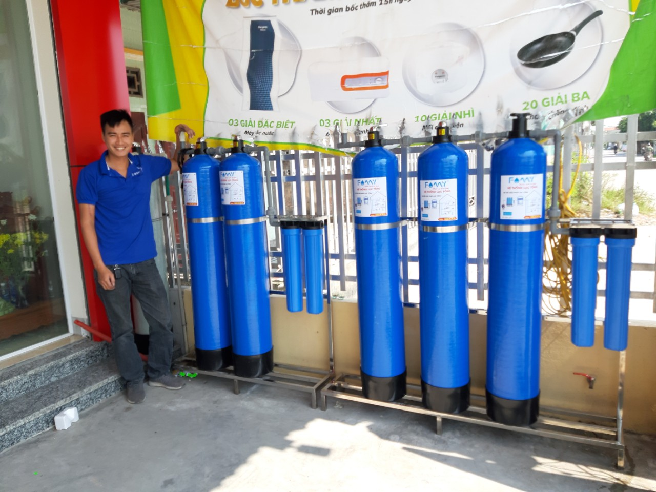 danh sách đại lý máy lọc nước
