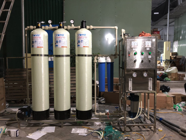 giá máy lọc nước công nghiệp