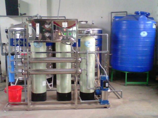 dàn máy lọc nước công nghiệp