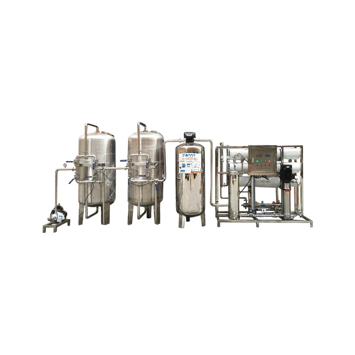Máy lọc nước công nghiệp 3000 lít/giờ