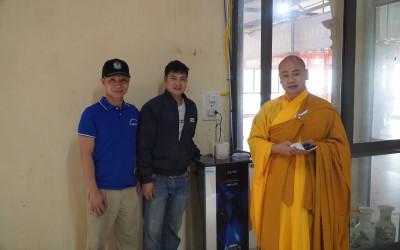Famy cùng điện máy Thắng Minh kính tặng hai máy lọc nước cho chùa Pháp Linh tại Tiên Lãng – Hải Phòng.