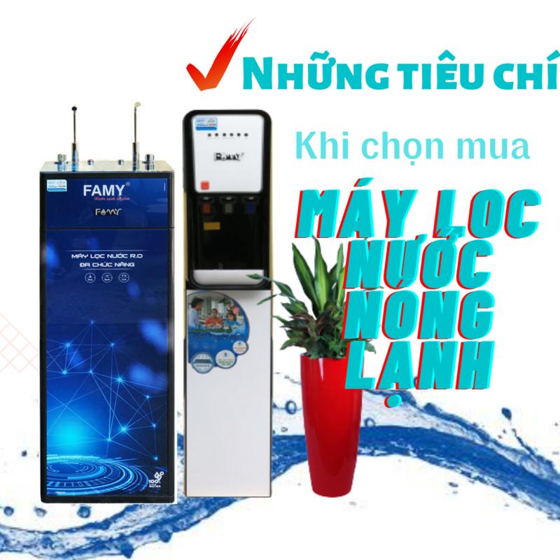 cách lựa chọn máy lọc nước nóng lạnh