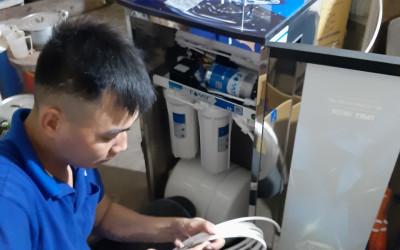 Cách đấu tắt van áp thấp đối với mát lọc nước gia đình RO
