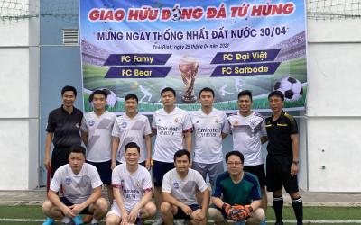Famy tổ chức giải thi đấu bóng đá tứ hùng tại Thái Bình.