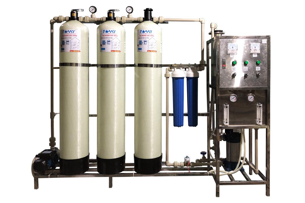 Máy lọc nước công nghiệp 500 lít/giờ