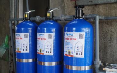 Báo giá bộ lọc nước đầu nguồn – Chuyên dụng cho xử lý nước nhiễm sắt của Famy.