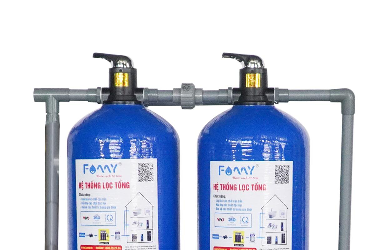 Hệ thống lọc nước giếng khoan nhiễm sắt chuyên dụng Famy GK02C hiệu quả lọc cao