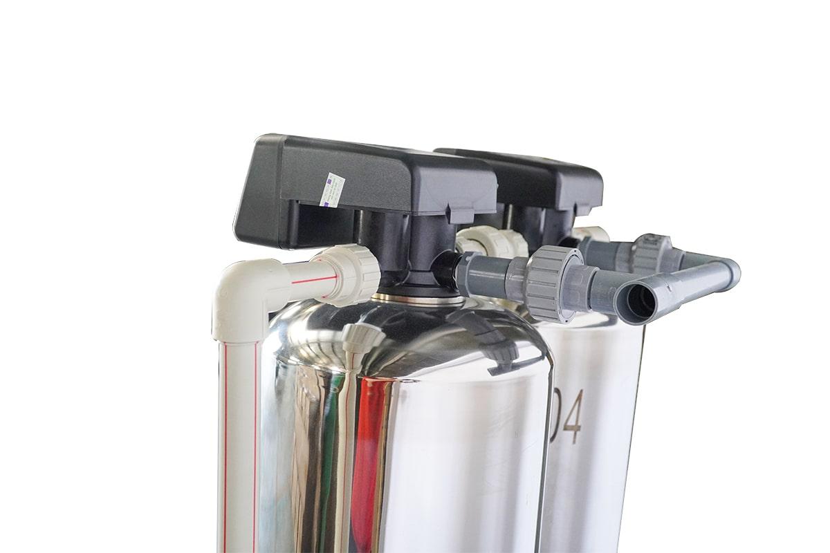 Hệ thống lọc tổng lọc nước đầu nguồn FAMY-LT02AI cột inox
