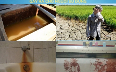 Lõi lọc nước khử mặn công nghệ RO