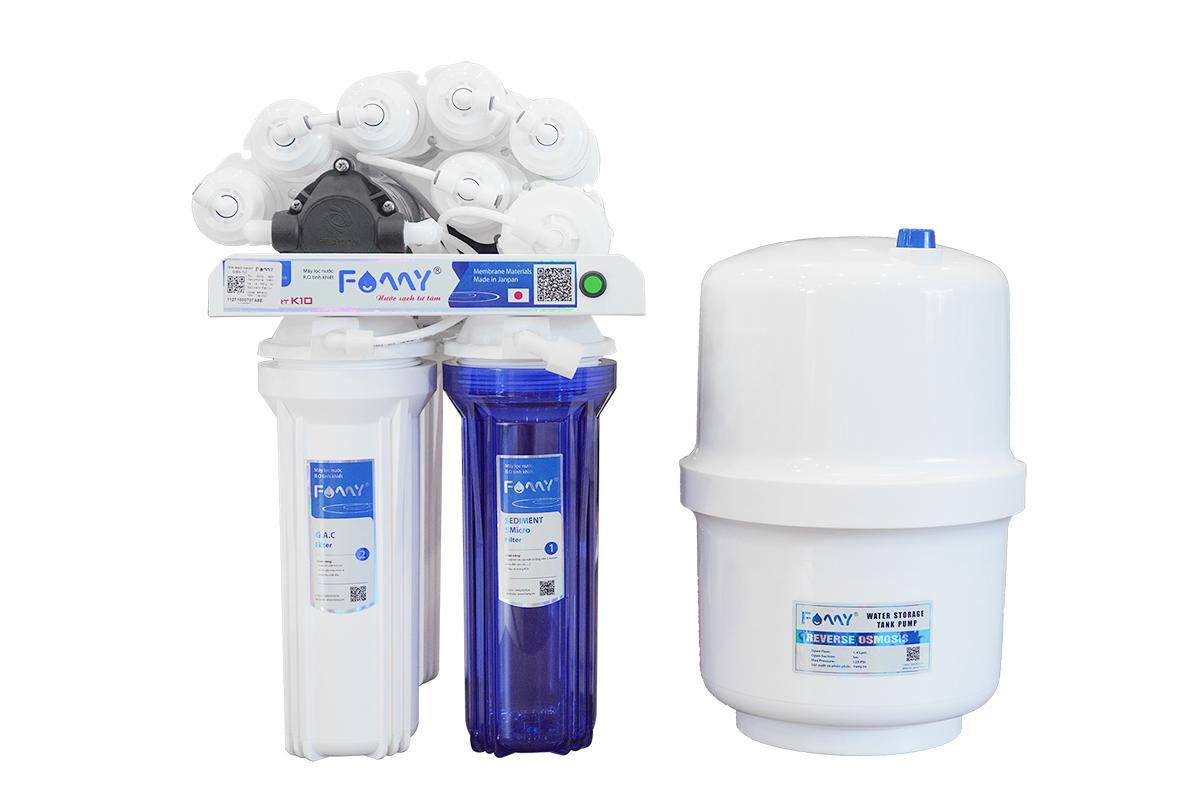 Máy lọc nước Famy SP-K10 - 10 cấp lọc không vỏ tủ