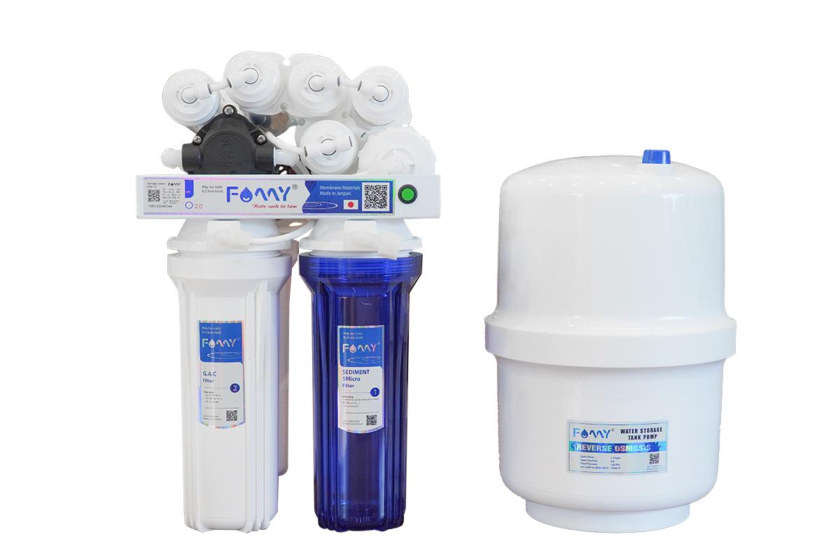 Máy lọc nước Famy ECO2.0 - H 9 cấp lọc không vỏ tủ