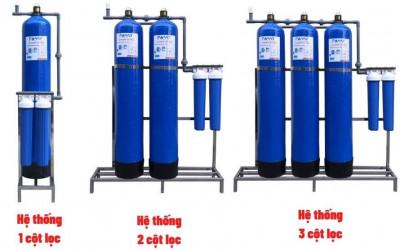 Nên lựa chọn bộ lọc nước đầu nguồn composite 1, 2 hay 3 cột cho gia đình mình?