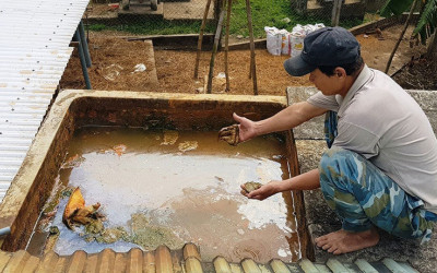 Giàn lọc nước giếng khoan – Thiết bị hiệu quả nhất trong việc xử lý nước nhiễm phèn