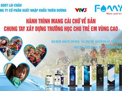 Xây trường cho trẻ em vùng cao Lai Châu 2020