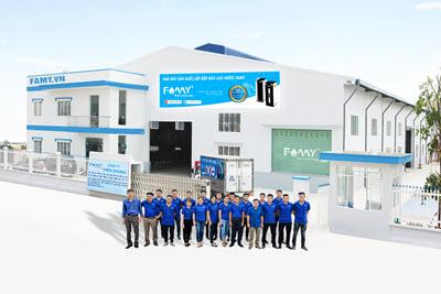 Nhà máy sản xuất lắp ráp máy lọc nước Famy Việt Nam
