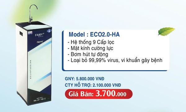 Máy lọc nước Famy ECO 2.0 IQHA