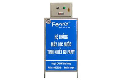 Máy lọc nước bán công nghiệp Famy Fa120 120 lít/giờ