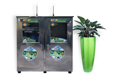 Máy lọc nước bán công nghiệp FAMY FA70 70 lít/giờ có tủ inox